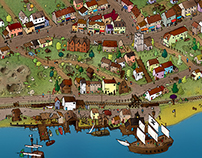 Leigh-on-Sea Pirate Map