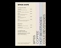 Spice Café – Visual Identity.