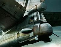 Tupolev 142 'Bear'