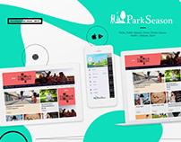 ParkSeason. Web & App. Ui/UX