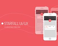 STARFALL  FREE UI/UX pack