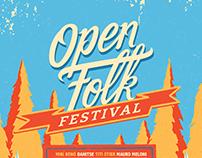 Poster Open Folk Festival