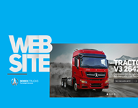 Website Design - Beiben Trucks