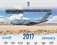 Indian Gov Calendar 2017 Preview