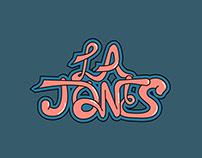 LA Jones Logo