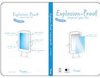 螢幕保護貼包裝設計