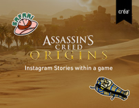 Ubisoft - Instagram Stories within a game