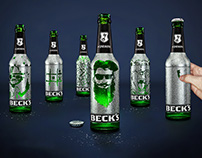 Beck´s Scratchbottle