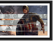 Poster Posse Project: Captain America
