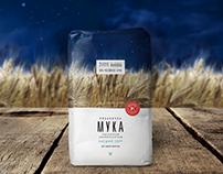 "Flour ""Ryazanochka"" rebranding"
