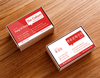 The Culture - Online Newspaper Business Card