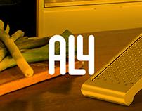 [Produto] Ralador Descartável AL4