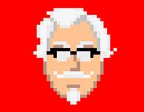 KFC's Colonel vs Colonel