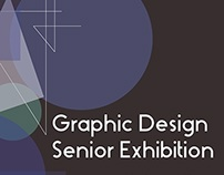 Senior Exhibition Poster