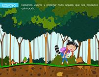 Libro ilustrado de los valores por Irene Portal
