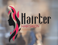 Logo Design - Hairter Hair Salon