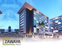 zawaya Business Complex Branding