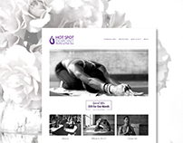 Hot Yoga Studio Website