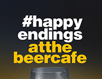#HappyEndings - Campaign for The Beer Cafe