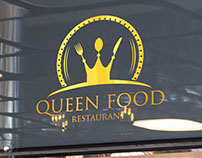 QUEEN FOOD | Logo