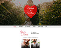 MARE - Wedding Responsive Inviiation Site Template