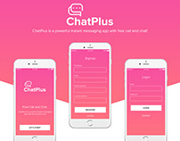 ChatPlus - Instant Messaging Mobile Application