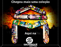 Posts Promocionais - Secret Spot Skate Shop