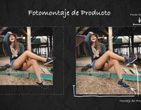 Fotomontaje de Producto