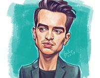 Brendon Urie Digital Painting