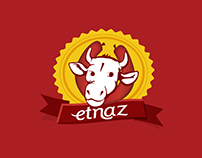 ETNAZ Logo, Corporate Identity and Advertising Campaign