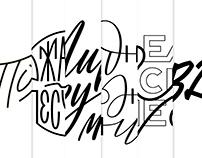 Lettering & Logo 2018