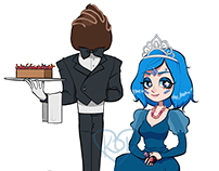 Candy Queen & Bonbon Butler