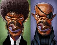 Samuel L. Jackson's roles