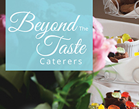 Beyond the Taste Caterers | Flyer Design