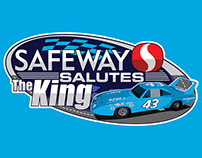 Safeway Salutes The King Logo