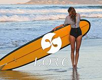 Lore - mademoiselle of the sea / logo design