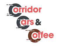 Corridor Cars & Coffee Logo Concept