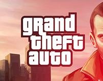 Grand Theft Auto Website Design