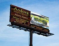 Andora Restaurant ADs