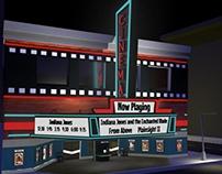 Cinema Exterior Model