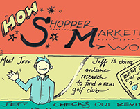 Shopper Marketing Illustration