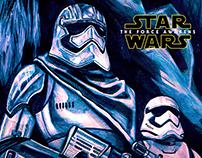 Star Wars Force Awakens Promotional Poster