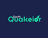 Earth Quakior Modern Logo