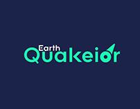 Earth Quakior Modern Logo