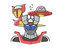 Mazinger Z Illustration