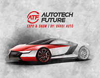 Brand identity / AutoTech Future Expo & Show 2018