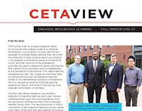 CETAVIEW Fall/Winter 2016-17 Engaged, Integrative Learn