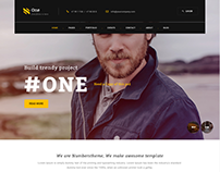 Number ONE – Multipurpose Modern Website HTML5 & CSS3 T