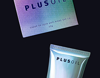 package design for  PLUSOIL cosmetics / Дизайн упаковки