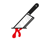 Knived logo / Self-branding project